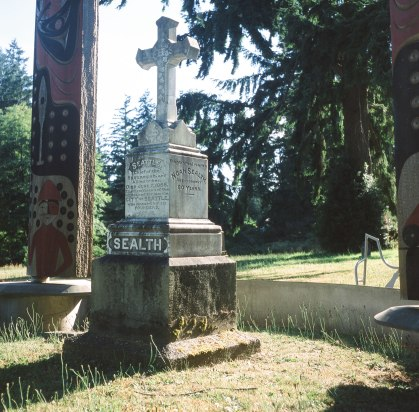 Chief Sealth's resting place. Suquamish, WA
